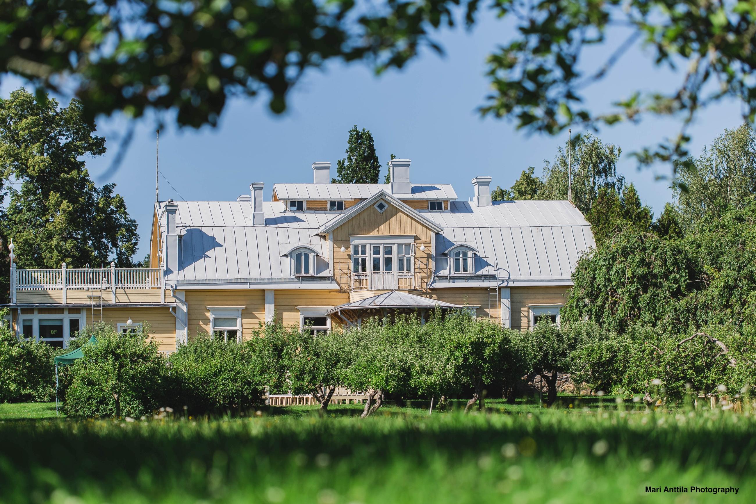 Häät Ala-Lemun kartano Turku