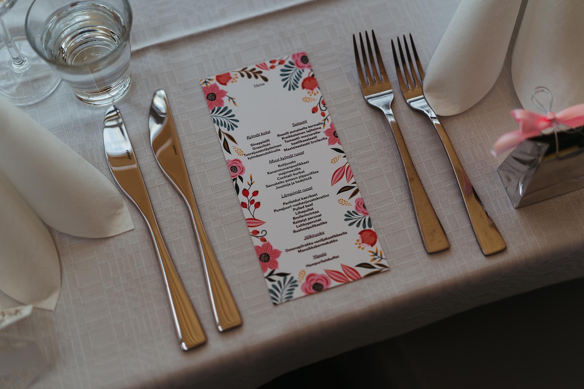 Häät Ala-Lemun Talliravintolassa lähellä Turkua